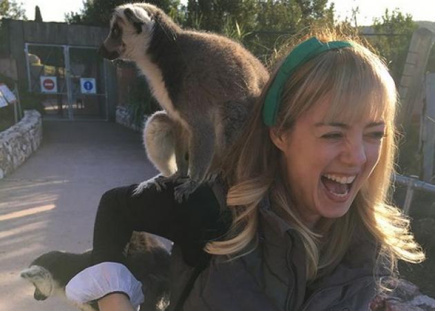 Άντα Λιβιτσάνου: Ξέγνοιαστες στιγμές με τον σύζυγό της στο Αττικό Ζωολογικό Πάρκο!