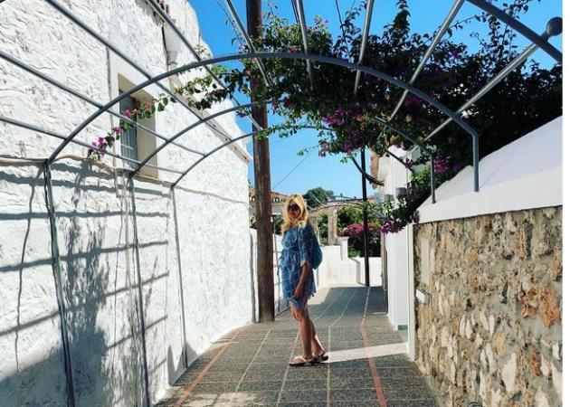 Κώστας Σπυρόπουλος - Χριστίνα Πολίτη: Πέρασαν το Σαββατοκύριακο στις Σπέτσες!