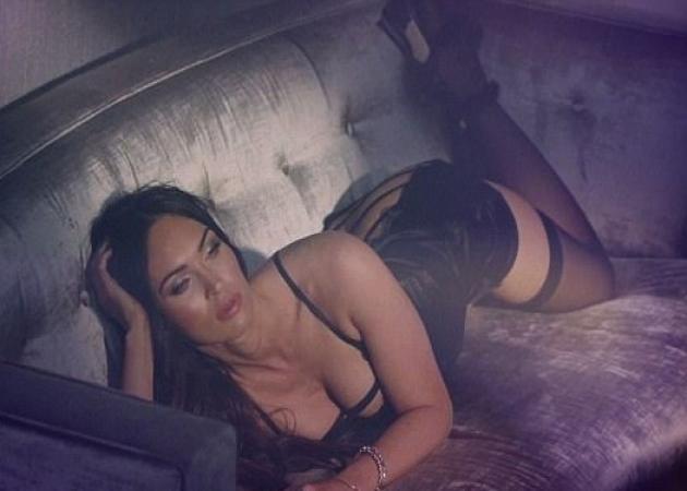 Μegan Fox: Καυτή φωτογράφιση με σέξι εσώρουχα! [pics,vid]