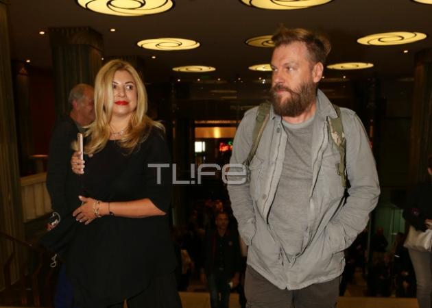 Κώστας Σπυρόπουλος - Χριστίνα Πολίτη: Βραδιά για δύο στο Παλλάς! [pics]