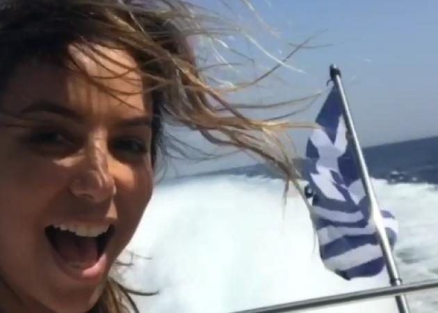 Eva Longoria: Στην Ελλάδα για διακοπές η διάσημη ηθοποιός! [pics,vids]