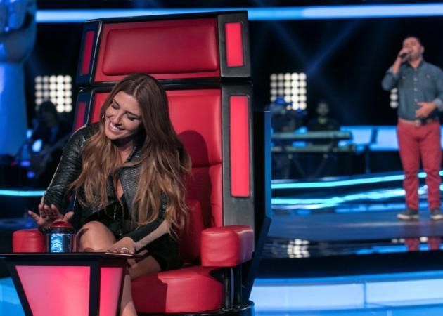 Έλενα Παπαρίζου: Το sexy βίντεο στα παρασκήνια του The Voice