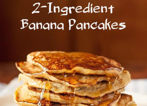 Πώς θα φτιάξεις pancakes μόνο με δύο υλικά και χωρίς αλεύρι;