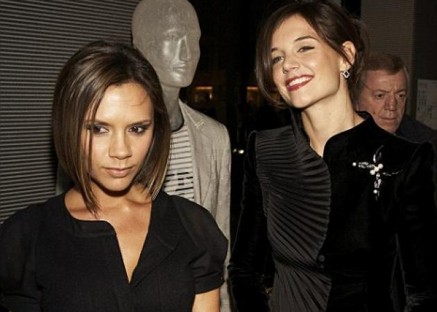 New York Fashion Week: Katie Holmes VS Victoria Beckham!