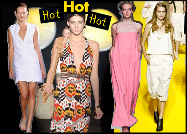 How to stay chic in the heat: Καύσωνας! Τι να φορέσεις όταν η θερμοκρασία ανεβαίνει...
