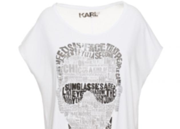 Κarl Lagerfeld:H limited Edition συλλογή από t-shirt!
