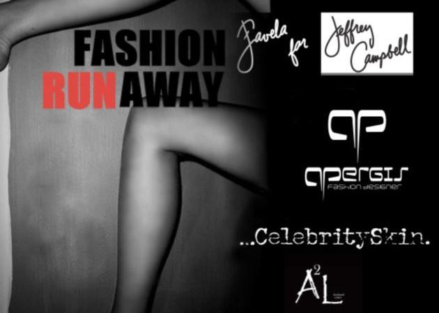 Fashion Show! Favela for Jeffrey Campbell, Panos Apergis, Celebrity Skin, και τον T-Shirt Maker A2L! Μην το χάσεις!