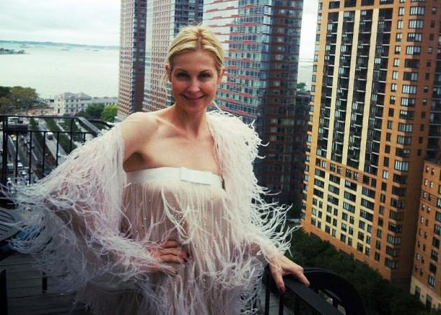 H Kelly Rutherford επιλέγει Celia Kritharioti Haute Couture!