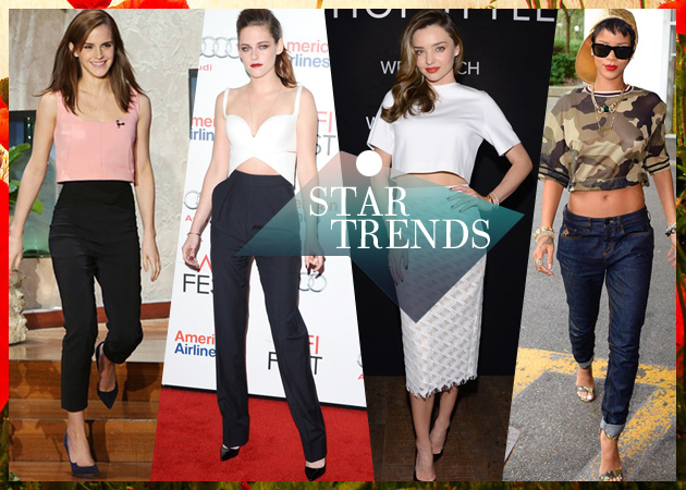 CELEBRITY STYLE: Οι stars αγαπούν τα cropped tops! Δες πως τα φόρεσαν...