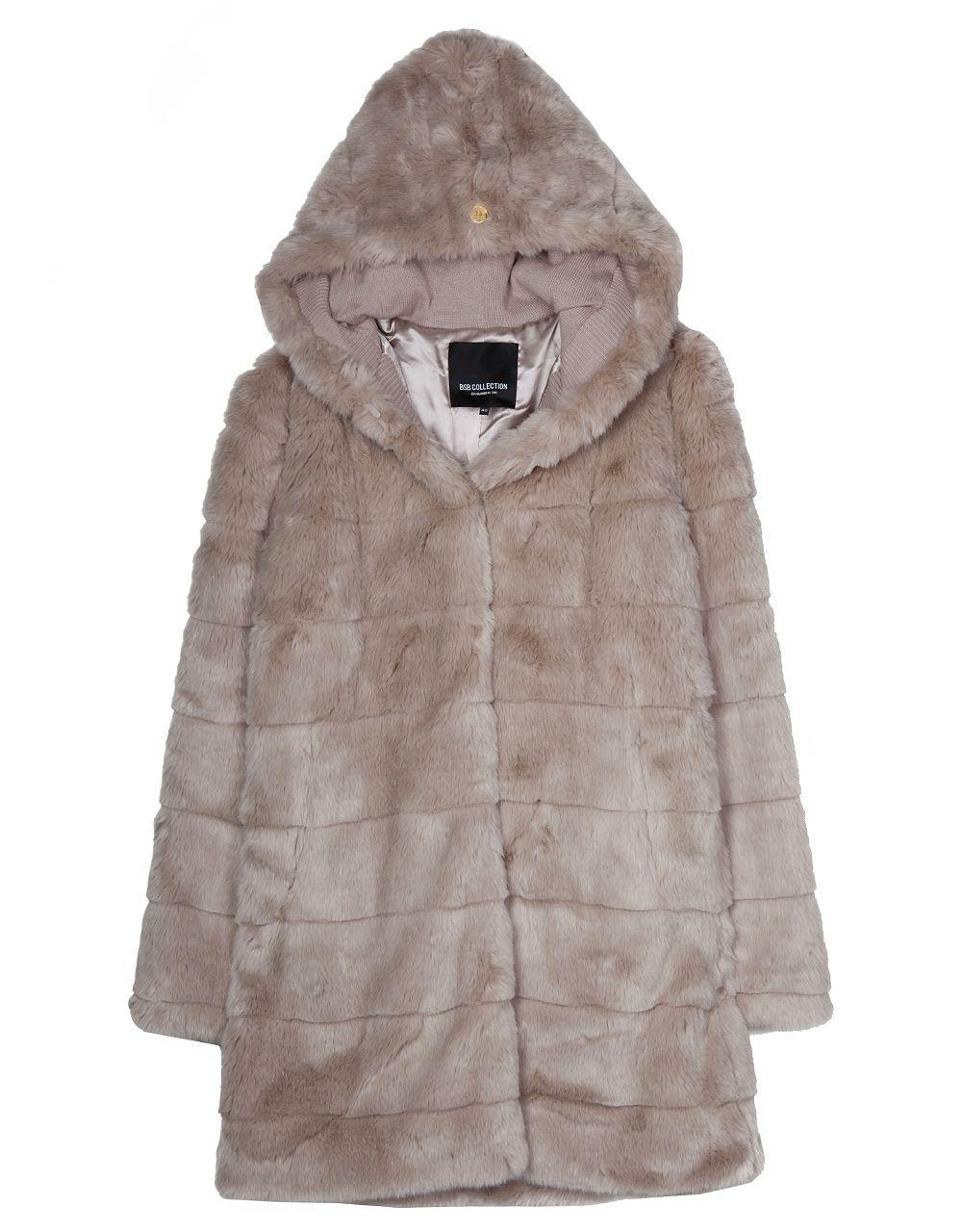 Midi γούνινο παλτό με κουκούλα –Για να το αποκτήσεις κάνε κλικ εδώ! e774dfed730