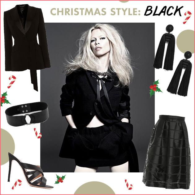 3f8c5300f78e Μαύρα, κόκκινα, λευκά ρούχα και αξεσουάρ για τις ημέρες των γιορτών ...