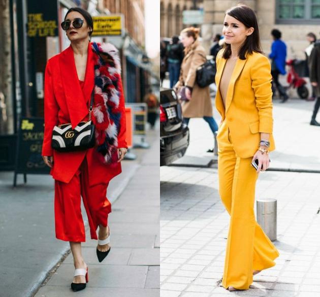 Η μονοχρωμία είναι τάση φέτος και ο πιο εύκολος τρόπος για να την πετύχεις  είναι το κοστούμι. Τόλμησε να φορέσεις ένα σε έντονο χρώμα (ιδανικά κόκκινο  ή ... 0ef649ac510