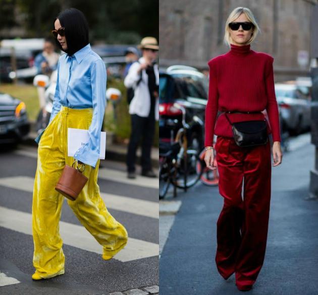 Συνεχίζουμε με τη βελούδινη παντελόνα που μπορείς φυσικά να τη φορέσεις και  το βράδυ σε κάποιο event 1be6f3f320b