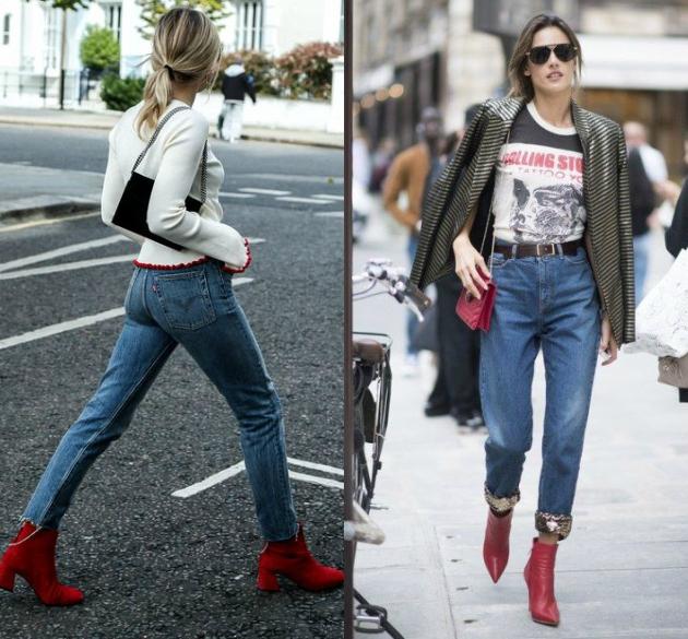 ea165efb625 Κόκκινα ankle boots: Πως να φορέσεις τη Νο1 τάση της σεζόν σύμφωνα ...