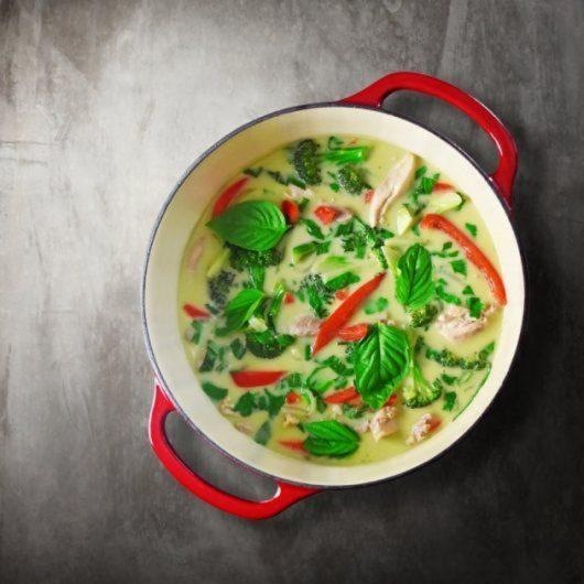 Thai κάρυ με κοτόπουλο | tlife.gr