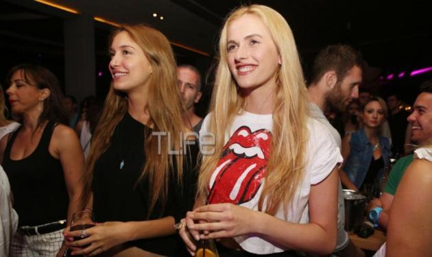 Άννα και Τέα Πρέλεβιτς: Διασκέδασαν στους Onirama!