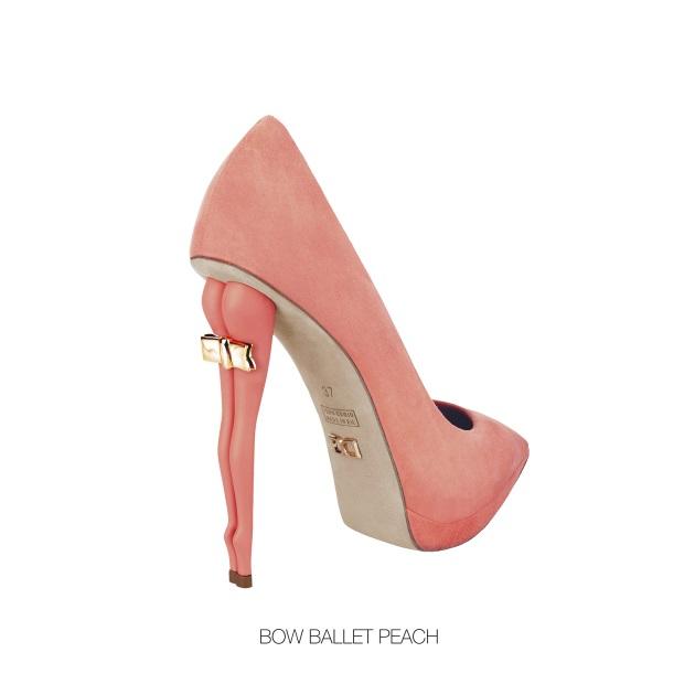 21 | Bow Ballet Peach