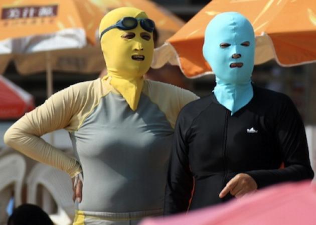 Facekini! Το νέο… OMG trend που κάνει θραύση στην Κίνα!