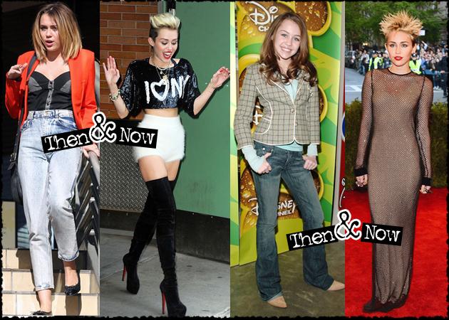 H στιλιστική εξέλιξη της Miley Cyrus! Από την Disney… στον Terry Richardson