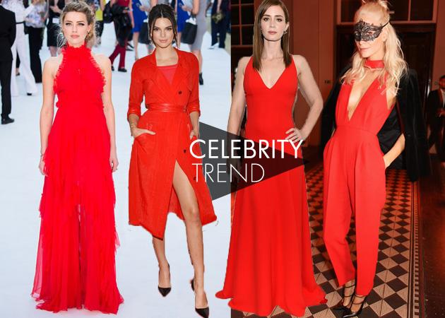 Κόκκινο: Δες πως φόρεσαν οι σταρ το πιο εορταστικό χρώμα! | tlife.gr