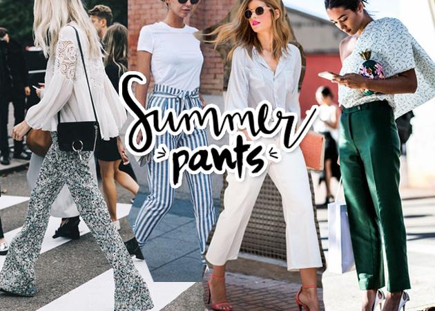 Καλοκαίρι 2016: Τα 30 ωραιότερα παντελόνια για να διαλέξεις!