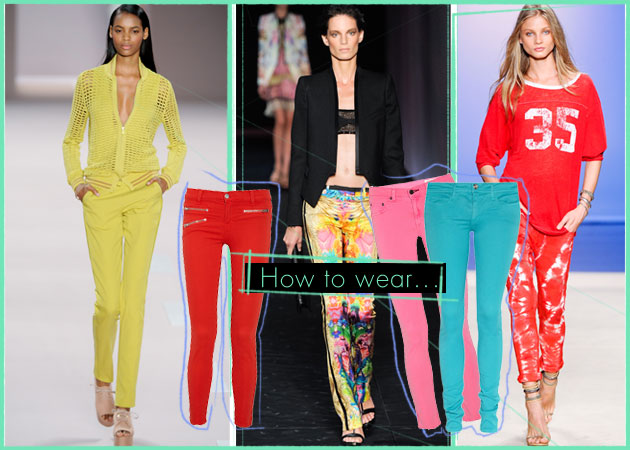 f388a63b04b2 Πώς να φορέσεις τα χρωματιστά σου παντελόνια. Τι πρέπει να προσέξεις…