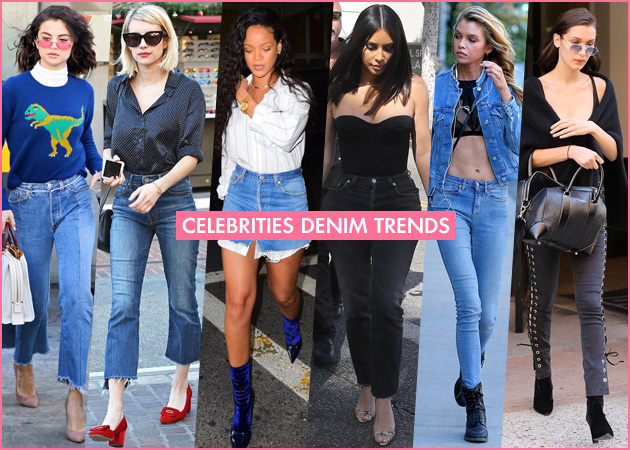 7 denim τάσεις που θα φορέσουμε αυτήν τη σεζόν σύμφωνα με τις celebrities | tlife.gr