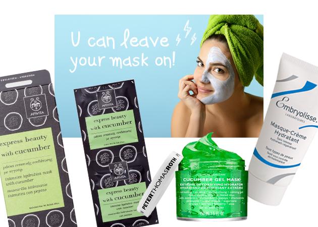 Οι 9 καλύτερες μάσκες για να ενυδατώσεις το πρόσωπό σου! | tlife.gr