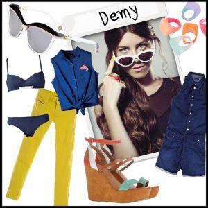Ντύσου με το στιλ της Demy