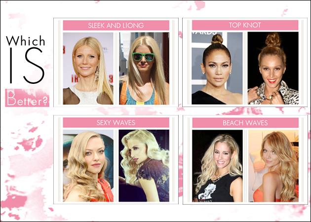 5 Ελληνίδες και ξένες celebrities με το ίδιο α-κρι-βώς χτένισμα! Ποιες το έκαναν καλύτερα;