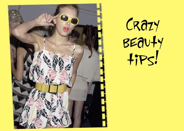 Τα πιο τρελά beauty tips που έχουμε ακούσει ποτέ! Ποια είναι αλήθεια και ποια ψέματα;