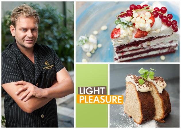Yummy! Ένα Light Red Velvet και ένα Vegan Cake από τον pastry chef Ευάγγελο Χασιώτη | tlife.gr