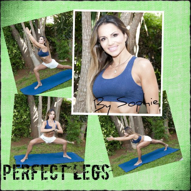 1 | Ανάδειξε τα καλλίγραμμα πόδια σου και τόνωσε τους γλουτούς! Η Σόφη έχεις τις ασκήσεις