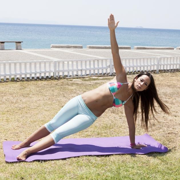 2   Άσκηση Pilates για κοιλιά Μέρος Πρώτο