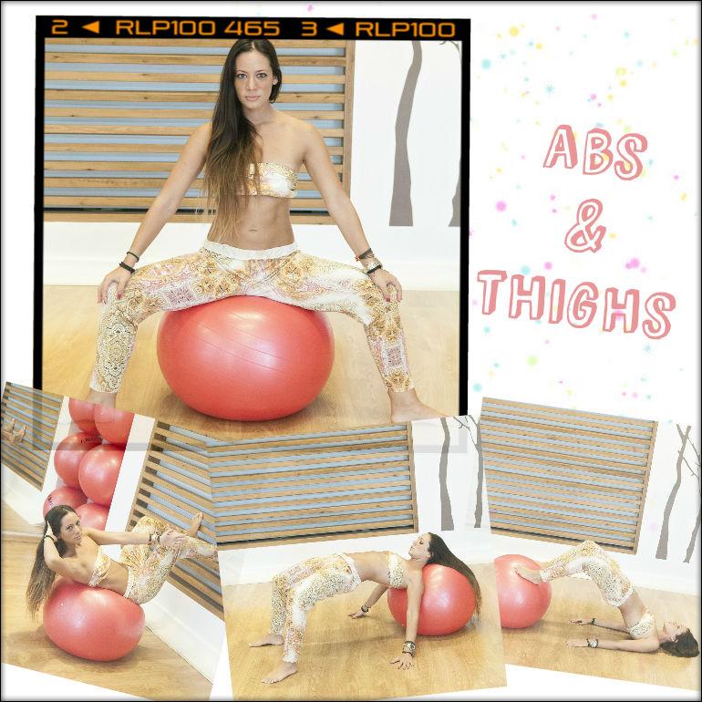 1   Ασκήσεις πάνω σε μπάλα: Η Μάντη Περσάκη σου δείχνει πως να γυμνάσεις κοιλιά και γλουτούς σε ένα σετ