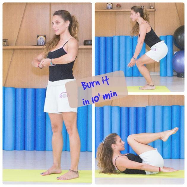 1 | Πώς θα κάψεις λίπος μέσα σε 10 λεπτά; Με αυτές τις ασκήσεις!