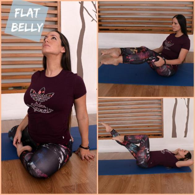 1 | Επίπεδη κοιλιά και σέξι κοιλιακοί με αυτές τις ασκήσεις!