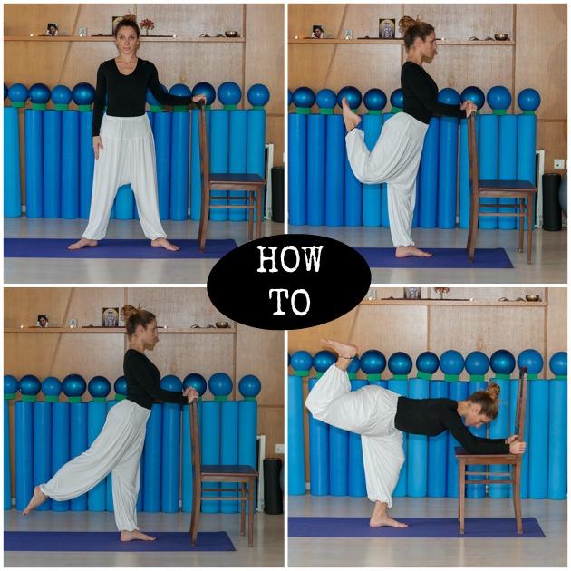1 | Ασκήσεις με καρέκλα για να γυμνάσεις τους γλουτούς σου!