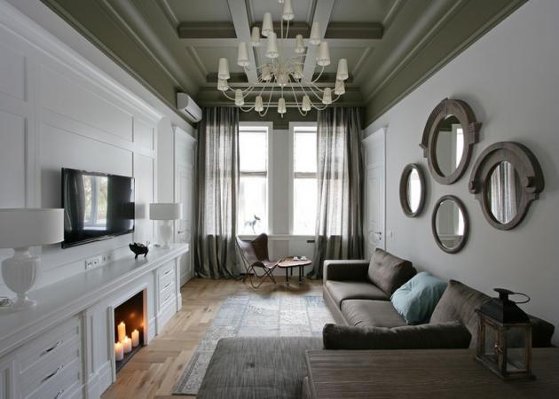Πώς η μονοχρωμία γίνεται trend! Δες αυτό το διαμέρισμα! | tlife.gr