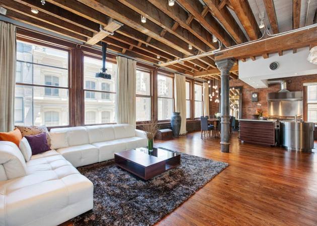 Ξύλο και τούβλο: ένα διαμέρισμα στο Σόχο σου δείχνει πώς να τα χρησιμοποιήσεις!   tlife.gr