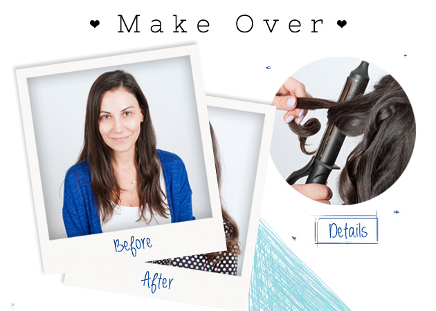 Makeover: δες την αναγνώστριά μας να μεταμορφώνεται σε