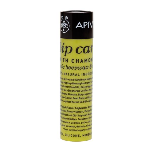 15   Apivita Lip Care με Χαμομήλι SPF15