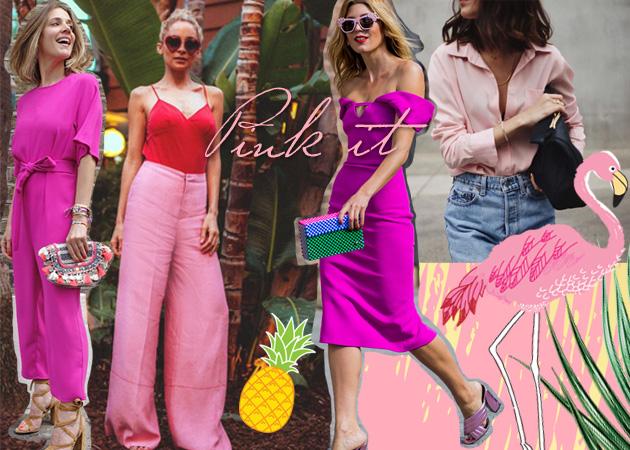 8+1 street styles για εσένα που θες να φορέσεις σωστά το ροζ το Καλοκαίρι