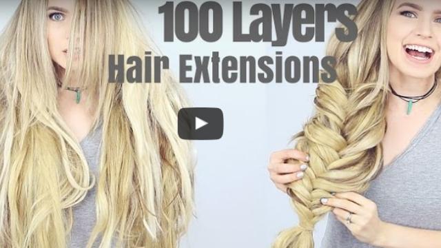 Χρησιμοποίησε 100 layers hair extensions για να κάνει την πιο μεγάλη πλεξίδα που είδες ποτέ!