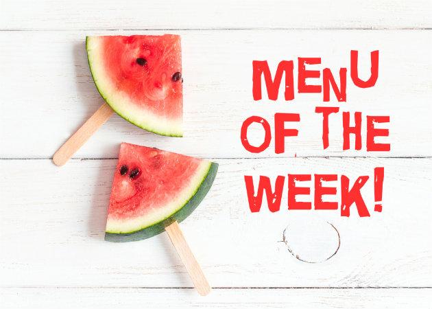 Το μενού της εβδομάδας: Κάθε μέρα νοστιμιές!