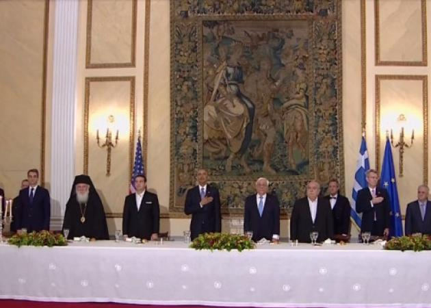Ο Ομπάμα στην Αθήνα – Παυλόπουλος σε Ομπάμα: Μην λησμονάτε τη χώρα μας | tlife.gr