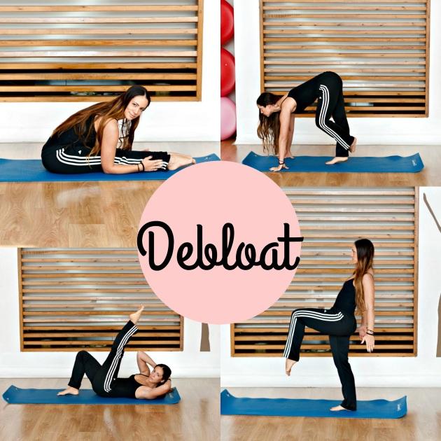 1 | Γυμναστική στο σπίτι: Ασκήσεις debloat για να αποβάλλεις το φούσκωμα στην κοιλιά