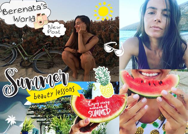 Γιατί γινόμαστε πιο όμορφες το καλοκαίρι; Bonus: τα beauty διδάγματα των διακοπών!