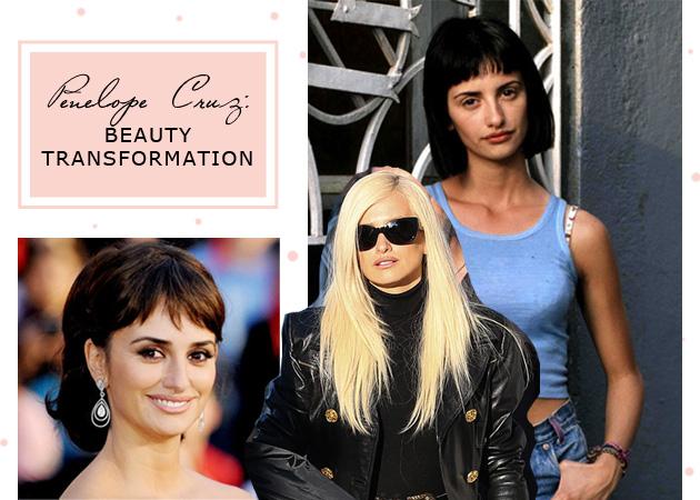 Penelope Cruz: όλες οι beauty αλλαγές της μέχρι να γίνει… ξανθιά!