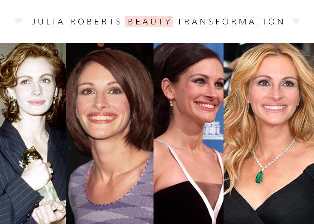 Julia Roberts: οι beauty αλλαγές της πιο όμορφης γυναίκας στον κόσμο | tlife.gr